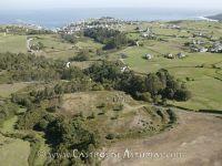 Monte del Castro de Mohías. Vista aérea