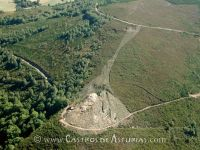 Monte Castrelo de Pelóu. Vista aérea