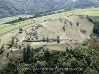 Castro de El Pico San Chuis. Vista aérea