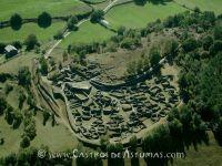 Castro de Coaña. Vista aérea