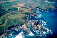 Castro de El Castelo o de El Esteiro. Vista aérea