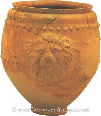 Chao Samartín, Grandas de Salime. Vaso de paredes finas de Melgar de Tera