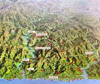Castros en investigación en el territorio Navia-Eo