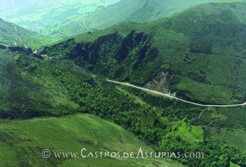 Explotación minera de La Brueba, Salas
