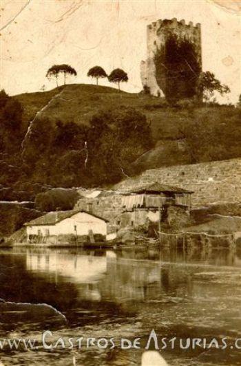 El Castillo de San Martín en una imagen de las primera décadas del siglo XX