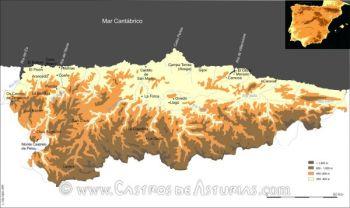 Castros asturianos en los que se han realizado excavaciones arqueológicas