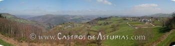 Panorámica del valle del Navia desde el Museo (foto: Salvador Rodríguez Ambres)