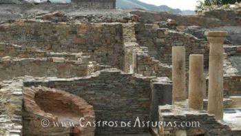 Domus romana del Chao de San Martín. Fuente: La Nueva España, foto de Luisma Murias