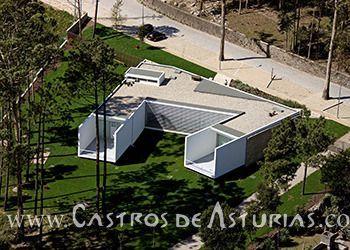 Centro de Interpretación de Monte Padrao, Santo Tirso (Portugal).
