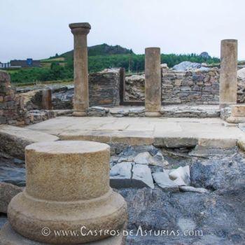 Atrio de la domus del Chao Samartín (siglo I d.C.). Foto: Ángel Villa Valdés