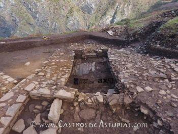 Sauna de Punta Sarridal. Foto: Axa Arqueoloxía