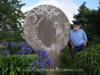 Miguel Ángel de Blas Cortina, Catedrático de Prehistoria de la Universidad de Oviedo