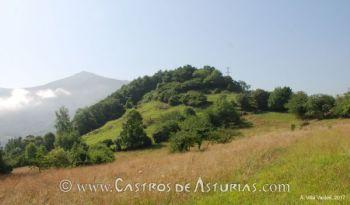 El Castro de Alava, en el concejo de Salas (Asturias)